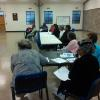 Diabetes health and senior care discussion at Dogwood Senior Center.
