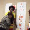 Fun, interactive activity with seniors on understanding how diabetes affects the human body.