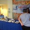 RANDAF, Inc. resource table during Senior Market Day at H.J.C. Bowden Senior Multipurpose Center.
