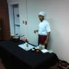 Chef Ro discussing the importance of healthy meal planning.