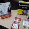 Diabetes Health and Wellness Literature Resources on display during Diabetes Awareness Month at the Atlanta-Fulton Public Library: Mechanicsville Branch.